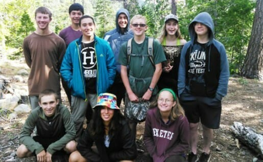 Teen Summer Wilderness Adventure Camp CA - 14 & 15
