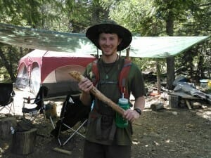 Teen apprentice 28-day wilderness survival training CA