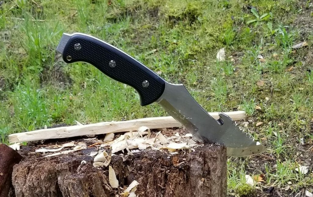Sharpening the Tracker Knife