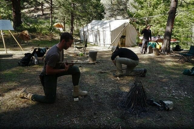 First Circle. Survival training in California survival Skills.