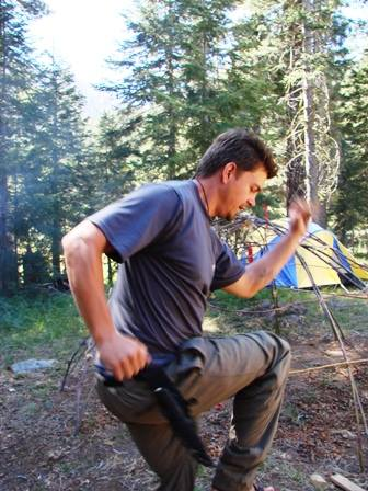 Weekend survival school with Lifesong Wilderness Adventures