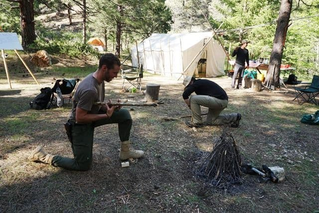 First Circle Camp. Lifesong Wilderness Adventures.